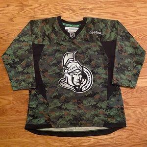 Youth Camo Reebok Ottawa Senators Jersey - XL